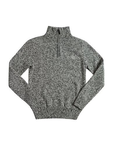 Chaps Cotton Jacquard Pullover-BLACK-X-Large 88755622_BLACK_X-Large