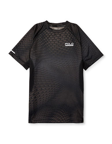 Polo Sport Printed Hexagon Soft Touch T-Shirt-BLACK MULTI-X-Large 88459660_BLACK MULTI_X-Large