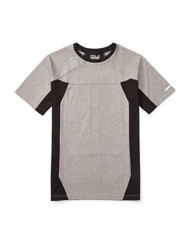 Polo Sport Pieced Performance T-Shirt-ANDOVER HEATHER-Small 88459671_ANDOVER HEATHER_Small