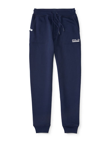 Polo Sport Knit Fleece Sweatpants-FRENCH NAVY-Medium 88514754_FRENCH NAVY_Medium