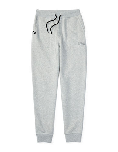 Polo Sport Knit Fleece Sweatpants-ANDOVER HEATHER-Medium 88514750_ANDOVER HEATHER_Medium