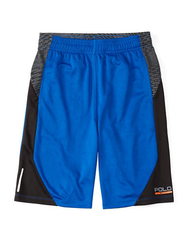 Polo Sport Contrast Elasticized Sports Shorts-SAPPHIRE STAR-Medium 88459710_SAPPHIRE STAR_Medium