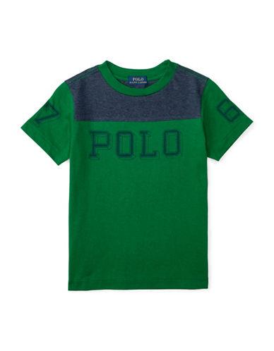 Ralph Lauren Childrenswear Jersey Graphic Tee-GREEN-Medium 88514609_GREEN_Medium