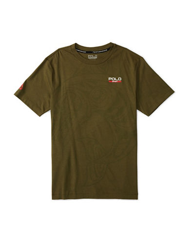 Polo Sport Basic Jersey Printed T-Shirt-GREEN-Large 88514765_GREEN_Large