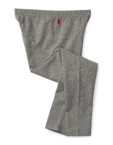 Ralph Lauren Childrenswear Cotton Jersey Leggings-GREY-Large 88659580_GREY_Large
