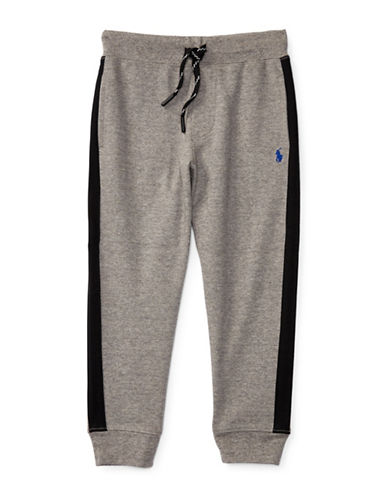 Ralph Lauren Childrenswear Interlock Track Pants-GREY-Large 88718182_GREY_Large