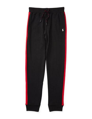 Ralph Lauren Childrenswear Interlock Track Pants-BLACK-X-Large 88718189_BLACK_X-Large