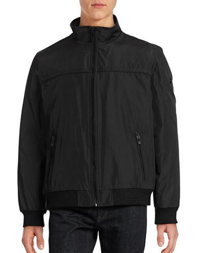 Calvin Klein Bomber Jacket-BLACK-Small 88387848_BLACK_Small