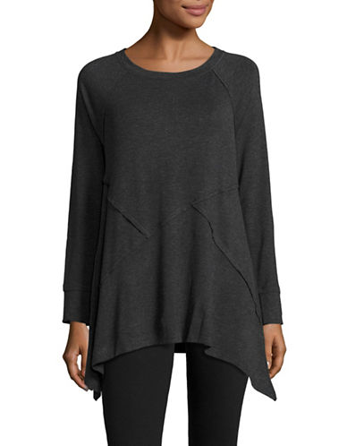 Calvin Klein Performance Cut and Sew Active  Top-SLATE HEATHER-Large 88509118_SLATE HEATHER_Large