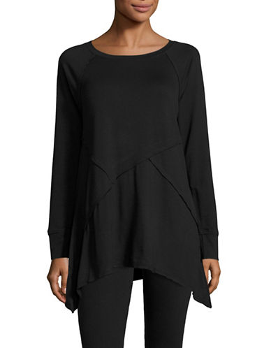 Calvin Klein Performance Cut and Sew Active  Top-BLACK-X-Large 88509116_BLACK_X-Large