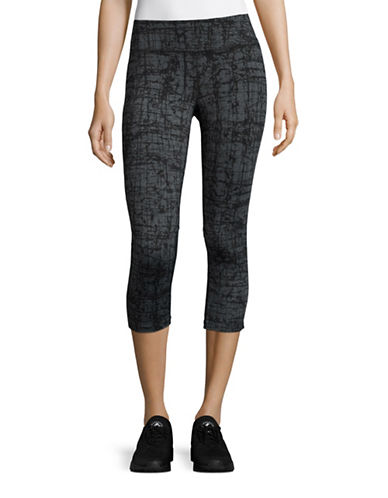 Calvin Klein Performance Printed Performance Capris-GREY-Medium 88613147_GREY_Medium