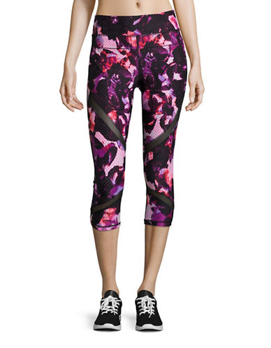 Calvin Klein Performance Performance Printed Crop Leggings-PURPLE-X-Large 88508217_PURPLE_X-Large