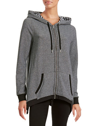 Calvin Klein Performance Striped Cotton Full-Zip Hoodie-GREY-Large 88501470_GREY_Large