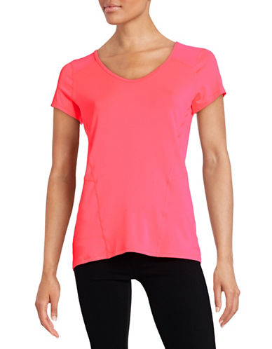 Calvin Klein Performance Quick-Dry Mesh Detail Tee-PINK-Medium 88436787_PINK_Medium