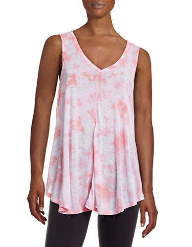 Calvin Klein Performance Performance Printed Tank Top-PINK-Small 88410051_PINK_Small
