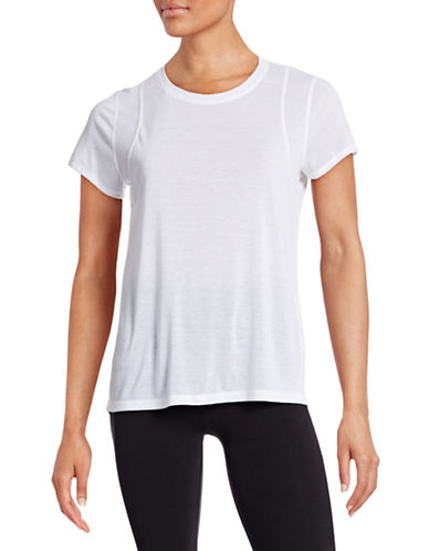 Calvin Klein Performance Quick-Dry Stitch Detail Tee-WHITE-Medium 88410020_WHITE_Medium
