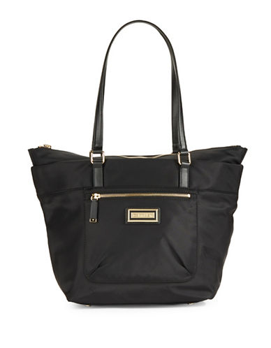 Calvin Klein Nylon Tote-BLACK-One Size 88419086_BLACK_One Size