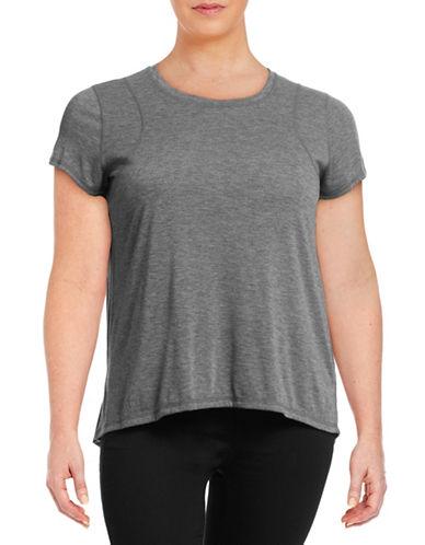 Calvin Klein Performance Plus Short Sleeve Performance T-Shirt-GREY-1X 88492360_GREY_1X