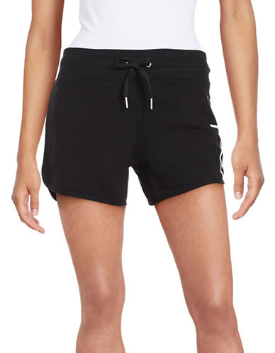 Calvin Klein Performance Moisture-Wicking Cotton Performance Shorts-BLACK-Large 89004238_BLACK_Large