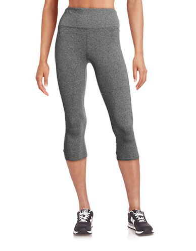 Calvin Klein Performance High-Waist Compression Capri Leggings-GREY-Large 88497033_GREY_Large