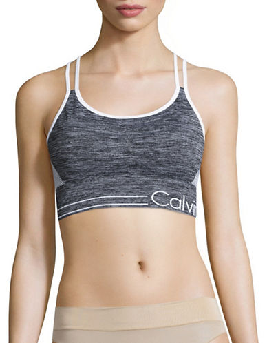 Calvin Klein Performance Reversible Sports Bra-GREY-X-Large 88508221_GREY_X-Large