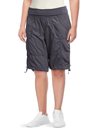 Calvin Klein Performance Plus Rollover Convertible Cotton Shorts 90147475