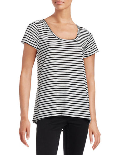 Calvin Klein Performance Striped Performance T-Shirt-BLACK MULTI-X-Small 88272572_BLACK MULTI_X-Small
