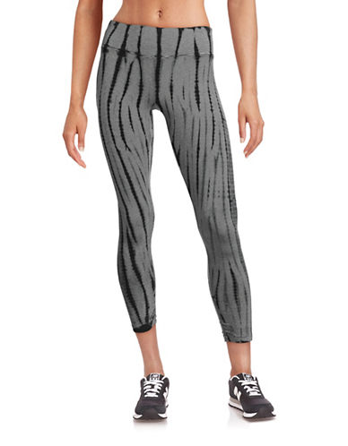 Calvin Klein Performance High-Waist Capri Leggings-GREY-Large 88435292_GREY_Large