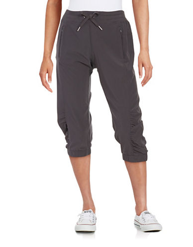 Calvin Klein Performance Commuter Performance Quick Dry Cropped Pants-CHARCOAL-Large 88497041_CHARCOAL_Large