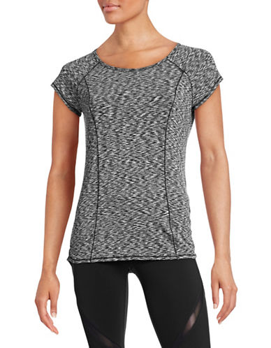 Calvin Klein Performance Active Space Dye T-Shirt-BLACK-Large 88497065_BLACK_Large