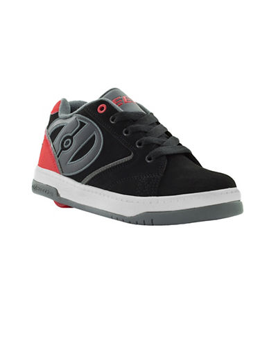 Heelys Propel 2.0 Suede Skate Shoes-BLACK-3