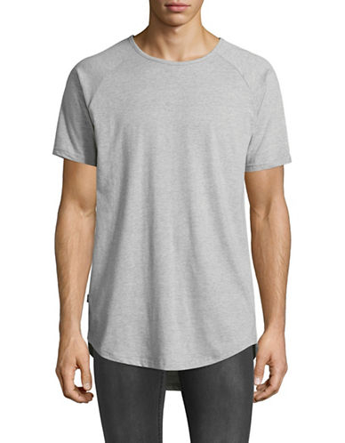 Fairplay Raglan Sleeve T-Shirt-GREY-X-Large