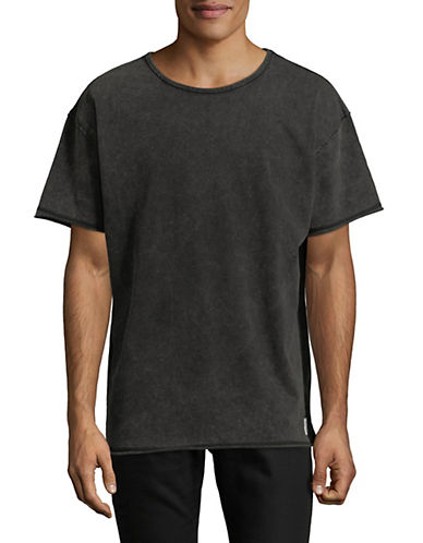 Fairplay Vesper College-Fit Cotton Tee-BLACK-Large
