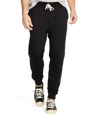 Polo Ralph Lauren Fleece Joggers-POLO BLACK-Large 88090661_POLO BLACK_Large