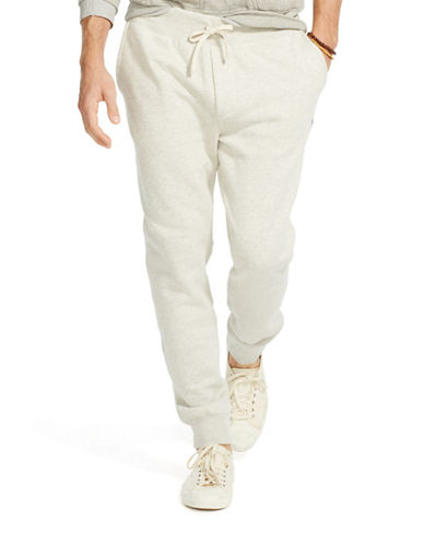 Polo Ralph Lauren Fleece Jogger Pants-LIGHT SPORT HEATHER-X-Large 88155697_LIGHT SPORT HEATHER_X-Large