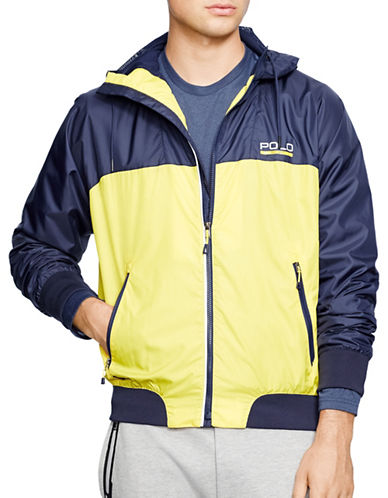 Polo Sport Ventilating Hooded Windbreaker-FRENCH NAVY-X-Large 88192783_FRENCH NAVY_X-Large