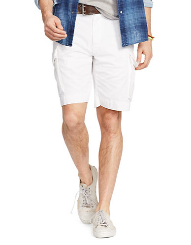 Polo Ralph Lauren Relaxed-Fit Chino Shorts-WHITE-30