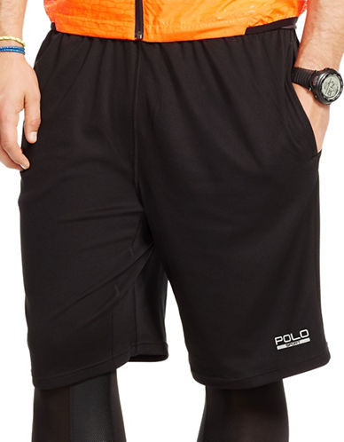 Polo Sport Textured Shorts-POLO BLACK-Small 88193037_POLO BLACK_Small