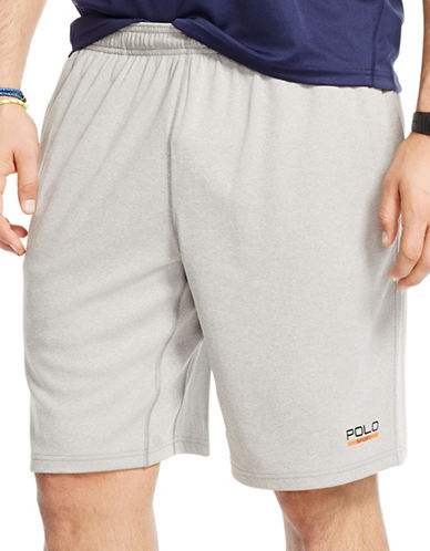 Polo Sport Textured Shorts-ANDOVER HEATHER-Medium 88193046_ANDOVER HEATHER_Medium