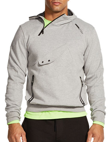 Polo Sport Double-Knit Tech Hoodie-ANDOVER HEATHER-X-Large 88237459_ANDOVER HEATHER_X-Large