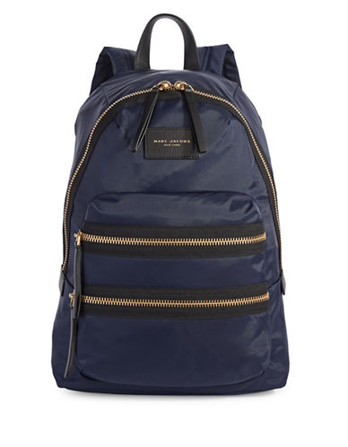 Marc Jacobs Biker Backpack-MIDNIGHT BLUE-One Size