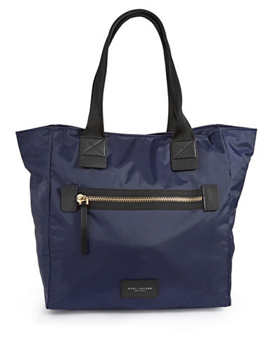 Marc Jacobs Nylon Biker N-S Tote Bag-BLUE-One Size