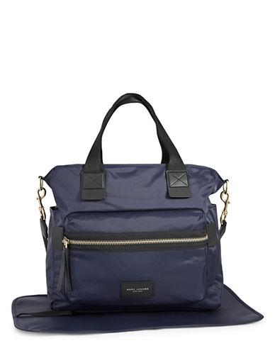 Marc Jacobs Nylon Biker Baby Bag-BLUE-One Size