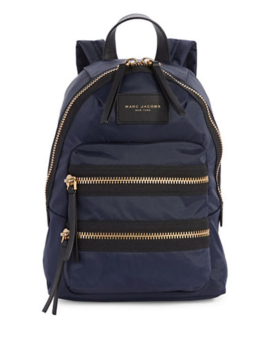 Marc Jacobs Biker Mini Backpack-MIDNIGHT BLUE-One Size