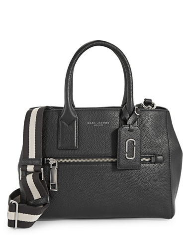 Marc Jacobs Gotham Leather Tote-BLACK-One Size 88446226_BLACK_One Size