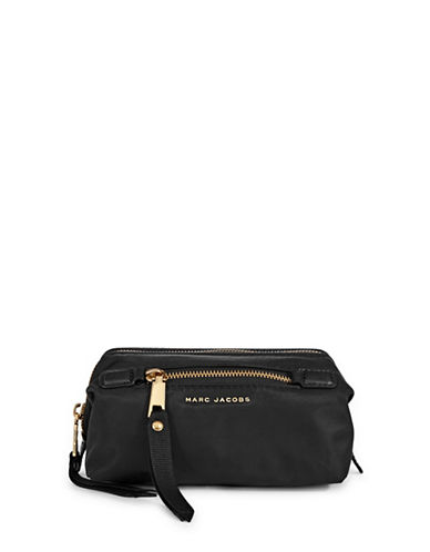 Marc Jacobs Framed Zip Bag-BLACK-One Size