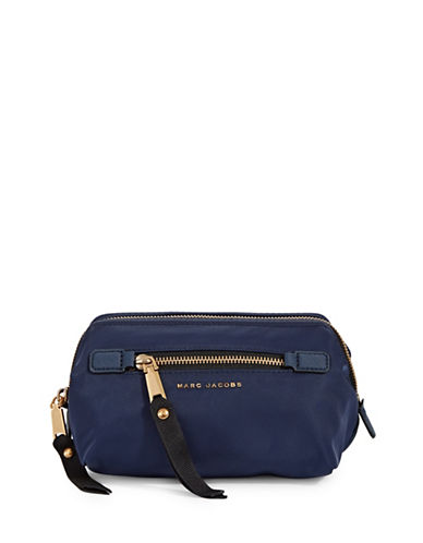 Marc Jacobs Framed Top-Zip Cosmetic Bag-BLUE-One Size