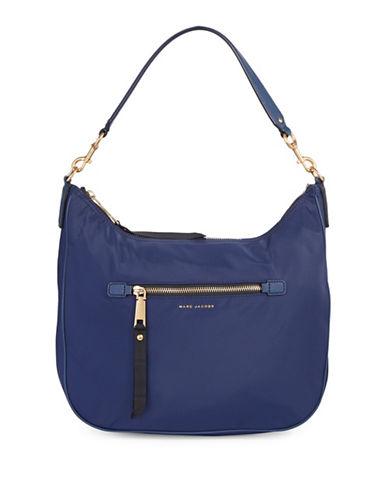 Marc Jacobs Trooper Nylon Hobo Bag-BLUE-One Size