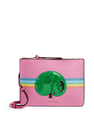 Marc Jacobs Rainbow Crossbody Bag-MAGENTA-One Size
