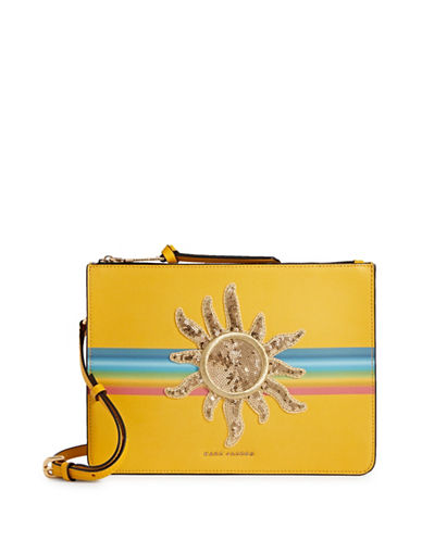 Marc Jacobs Rainbow Crossbody Bag-YELLOW-One Size